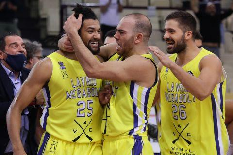 Λαύριο - Ντιζόν 65-63: Ιστορική νίκη με καλάθι και μπλοκ του Γκόινς στο φινάλε