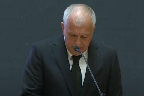Ντούσαν Ίβκοβιτς: Βαρύ κλίμα και πένθος σε εκδήλωση για να τιμηθεί η μνήμη του στο Κοινοβούλιο