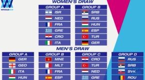Οι αντίπαλοι της Εθνικής Ανδρών – Γυναικών στο Ευρωπαϊκό της Βαρκελώνης
