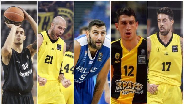 Το depth chart της Εθνικής Ανδρών χωρίς τους παίκτες της EuroLeague