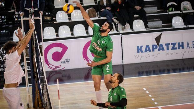 Volleyleague ανδρών: Ο Παναθηναϊκός 3-0 τον ΟΦΗ και ανέβηκε μόνος πρώτος