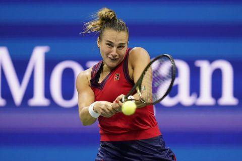 Η Αρίνα Σαμπαλένκα στο US Open
