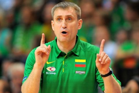 Basketball Vilnius (LTU) 09.09.2011 Europameisterschaften der Herren Litauen (LTU) - Frankreich (FRA) Foto: Camera 4