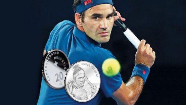 Φέντερερ: Έγιναν 2,5 εκατομμύρια clicks για ένα νόμισμα με τον Ελβετό