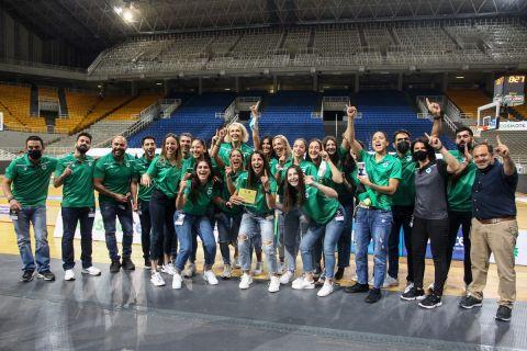 Η ΚΑΕ Παναθηναϊκός βράβευσε τις γυναίκες για την κατάκτηση του πρωταθλήματος /3-6-2021