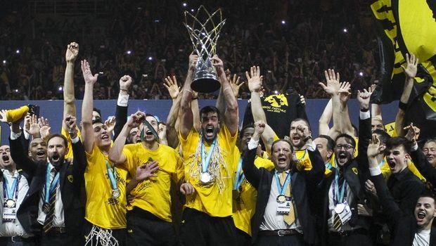 ΑΕΚ: Το αφιέρωμα της ΕΡΤ στην κατάκτηση του Basketball Champions League από την