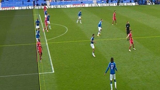 Το ακυρωθέν γκολ του Χέντερσον στο 90'+2' του Έβερτον - Λίβερπουλ