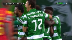 Σπόρτινγκ – Τοντέλα 2-0: Καθάρισε από το πρώτο ημίχρονο
