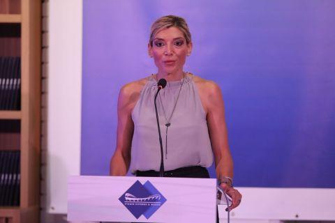 Η Πρόεδρος του ΣΕΦ, Χριστίνα Τσιλιγκίρη