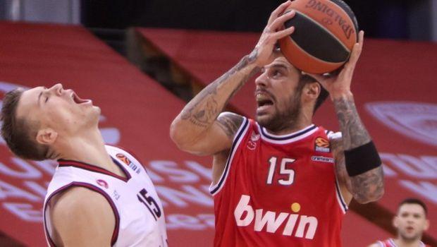 Η κατάταξη της EuroLeague: Με θετικό πρόσημο ο Ολυμπιακός