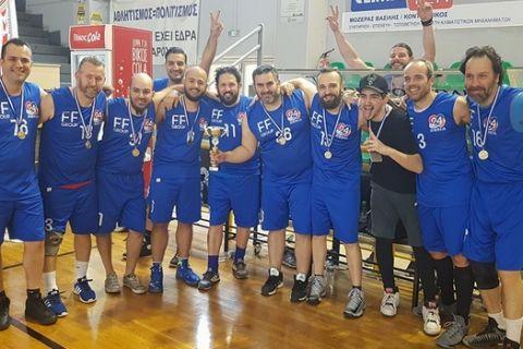 Κυπελλούχος η 24MEDIA στο Δημοσιογραφικό Πρωτάθλημα Μπάσκετ