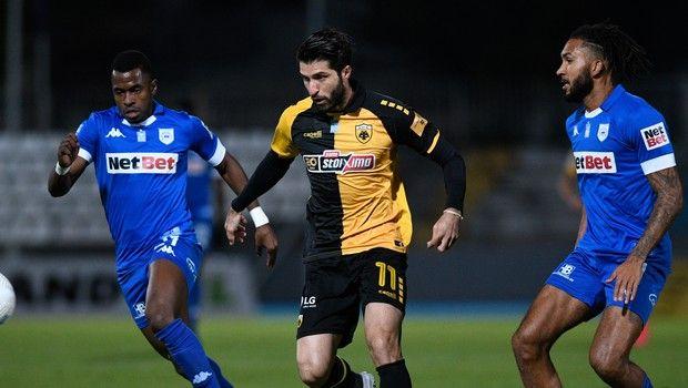 ΠΑΣ Γιάννινα - ΑΕΚ: Ο Ανσαριφάρντ με πέναλτι έκανε το 0-1