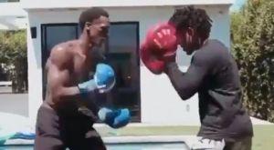 Ρόντο: Στα καλύτερά του, ετοιμάζεται κάνοντας προπόνηση πυγμαχίας