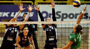 Volleyleague γυναικών: Σπουδαίο διπλό για τον ΑΟ Θήρας, 3-2 τον Παναθηναϊκό
