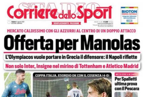 Ολυμπιακός: Έχει καταθέσει πρόταση 15-18 εκατ. ευρώ για τον Μανωλά σύμφωνα με τους Ιταλούς