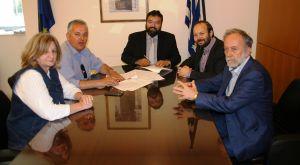 Υπογραφή Προγραμματικής Σύμβασης με τον Δήμαρχο Βέλου – Βόχας