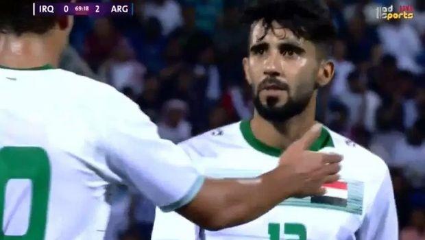 Ιρακινός παίκτης έμαθε ότι έχασε τη μητέρα του την ώρα του αγώνα με την Αργεντινή
