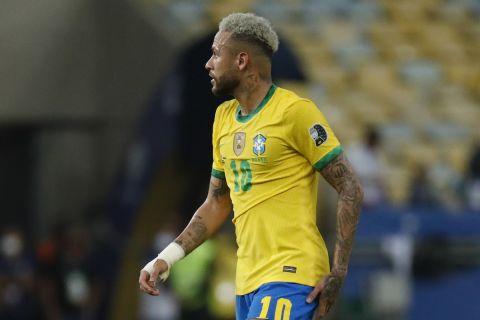 Ο Νεϊμάρ στον τελικό του Copa America 2021 ανάμεσα σε Βραζιλία και Αργεντινή.