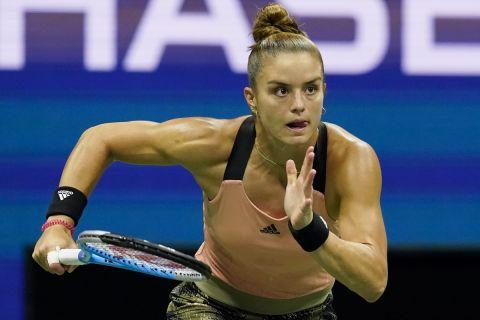 Η Μαρία Σάκκαρη στο US Open