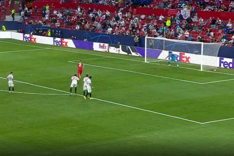 Σεβίλλη-Σάλτσμπουργκ: Πρώτη φορά στην ιστορία του Champions League δόθηκαν τέσσερα πέναλτι σ' έναν αγώνα