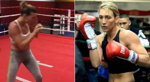 Η φοβερή Mikaela Mayer γυμνάζεται σκληρά ενόψει του αγώνα της