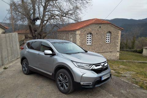 Οδηγούμε το νέο υβριδικό Honda CR-V e:HEV