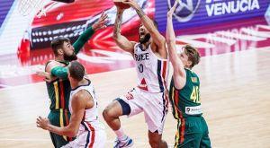"""Γαλλία – Λιθουανία 78-75: Στους """"8"""" με δίδυμο νίκης τους Ντε Κολό, Φουρνιέ"""