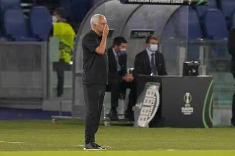 Ο Ζοζέ Μουρίνιο στον πάγκο της Ρόμα κόντρα στην ΤΣΣΚΑ Σόφιας για το Europa Conference League | 16 Σεπτεμβρίου 2021