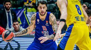 Βαθμολογία EuroLeague: Μόνη τέταρτη η Μακάμπι, ζωντανός ο Ολυμπιακός