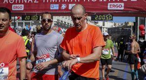 Στον Ημιμαραθώνιο της Αθήνας ο Παναγιώτης Αγγελόπουλος