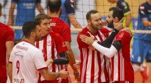 Volley League ανδρών: Πέρασε από την Μίκρα ο Ολυμπιακός, 3-2 τον Ηρακλή