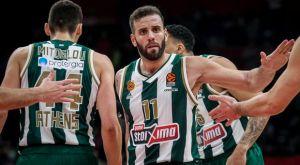 Βαθμολογία της EuroLeague: Σταθερά 6ος παρά την ήττα στο Βελιγράδι ο Παναθηναϊκός