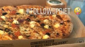 Ο Ποντένσε κάνει διατροφή με… πίτσα!