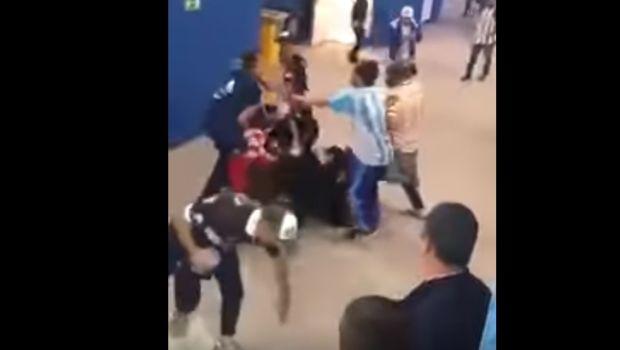 Άγριο σκηνικό βίας από οπαδούς της Αργεντινής
