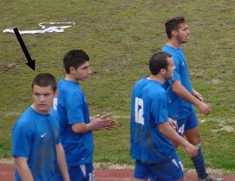 Η ομάδα του Τιμολέοντα Διαμαντή όταν έπαιζε ποδόσφαιρο