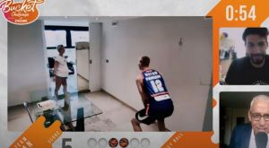 EuroLeague: Ομάδα Λάρκιν εναντίον Ομάδας Βέσελι σε… Bucket Challenge