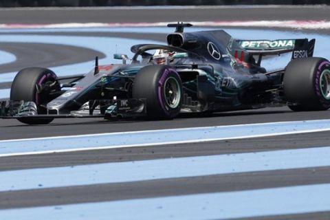 GP Γαλλίας (FP1): Ταχύτερος ο Χάμιλτον, 1-2 η Mercedes