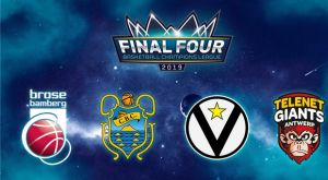 Basketball Champions League: Στην Αμβέρσα το Final Four