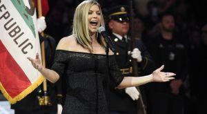 Παρατράγουδο με τη Fergie κατά την ανάκρουση του εθνικού ύμνου των ΗΠΑ!