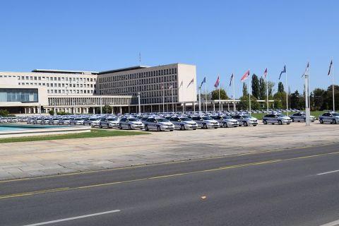 Τα περιπολικά της SKODA στην Σερβία