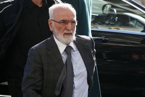 Ο ιδιοκτήτης του ΠΑΟΚ, Ιβάν Σαββίδης