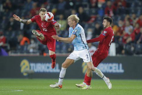 Ο Κανέρ Ερκίν κόντρα στον Μόρτεν Θόρσμπι σε ματς κόντρα στη Νορβηγία για τα προκριματικά του Παγκοσμίου Κυπέλλου