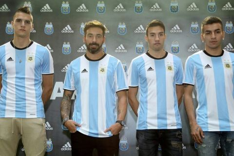 Αυτές είναι οι νέες εμφανίσεις της εθνικής Αργεντινής