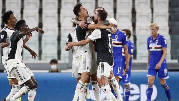 Γιουβέντους - Σαμπντόρια 2-0: Νίκη, πρωτάθλημα και τραυματισμοί για τη