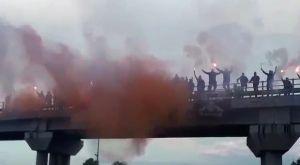 ΠΑΟΚ: Προεόρτια φιέστας στην Εθνική οδό
