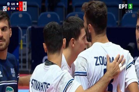 Ελλάδα - Πορτογαλία 1-3: Έσβησε για την Εθνική Ανδρών το όνειρο της πρόκρισης στους 16 του Ευρωπαϊκού Πρωταθλήματος