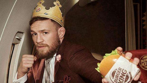 Ποιο ΜΜΑ; Τα Burger King να είναι καλά...