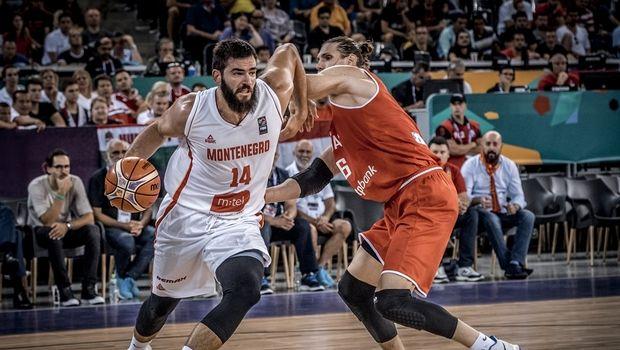 Με 4 παίκτες που παίζουν στην EuroLeague η λίστα του Μαυροβουνίου