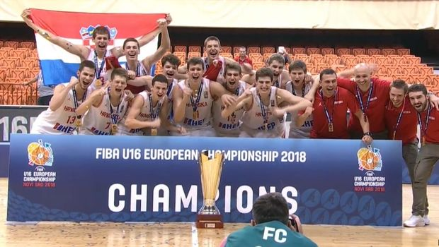 Ο Πρκάτσιν χάρισε το χρυσό μετάλλιο στην Κροατία στο EuroBasket U16