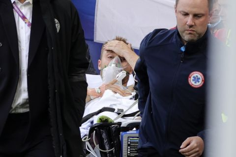 "UEFA: ""Σε σταθερή κατάσταση ο Έρικσεν σε νοσοκομείο της Κοπεγχάγης"""